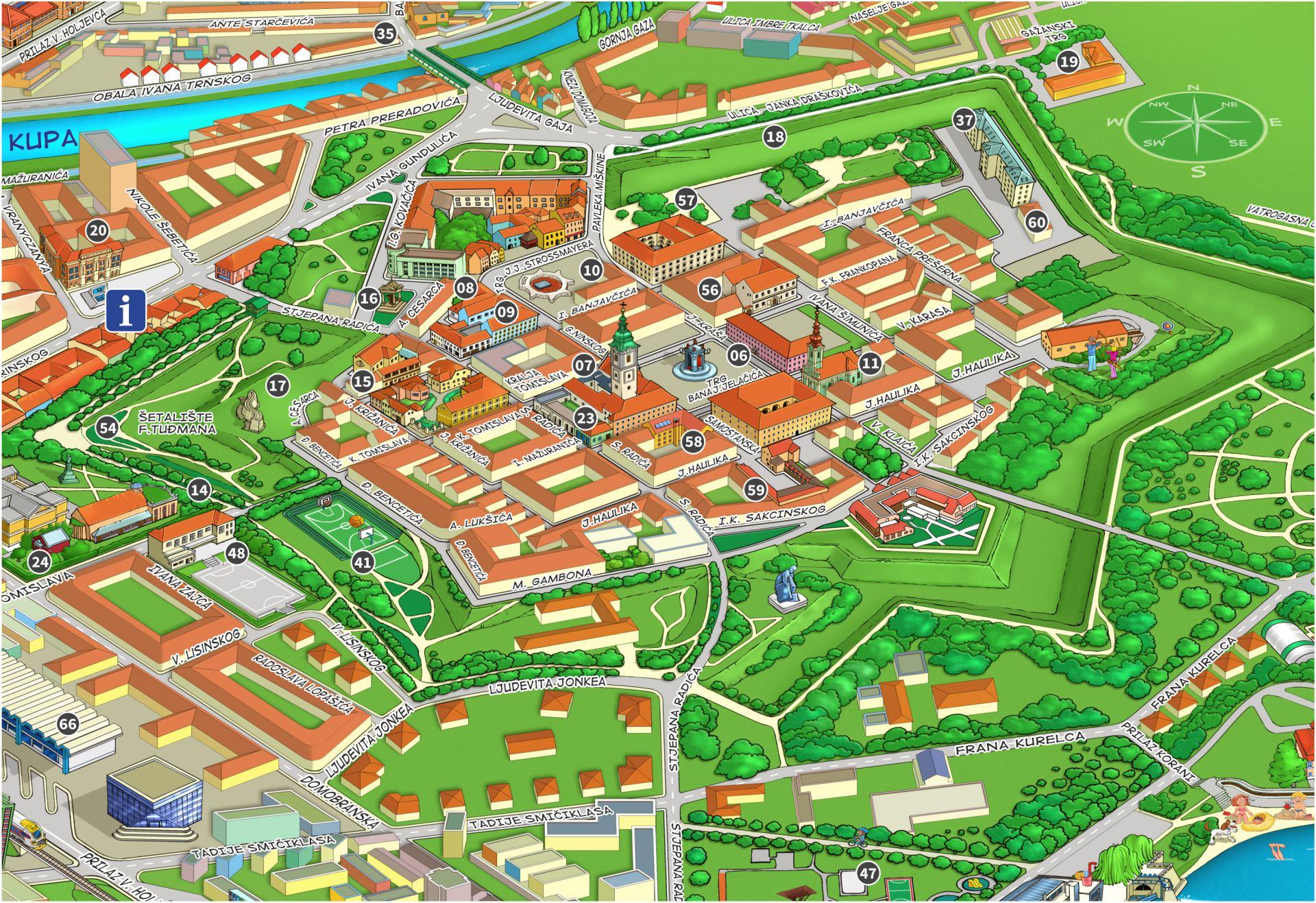 City Plan Turisticka Zajednica Grada Karlovca