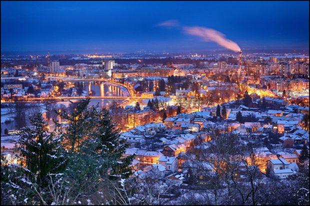 Karlovac zimi