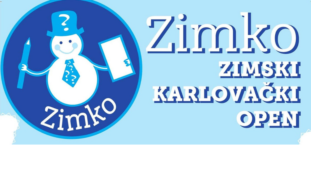 Zimski Karlovački Open – ZIMKO 2019