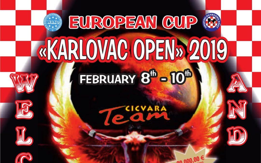 """Turnir u kickboxingu """"Karlovac Open 2019."""""""