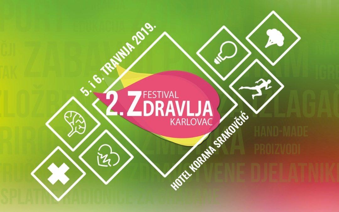 Festival zdravlja 2019. u Karlovcu 4. i 5. travnja