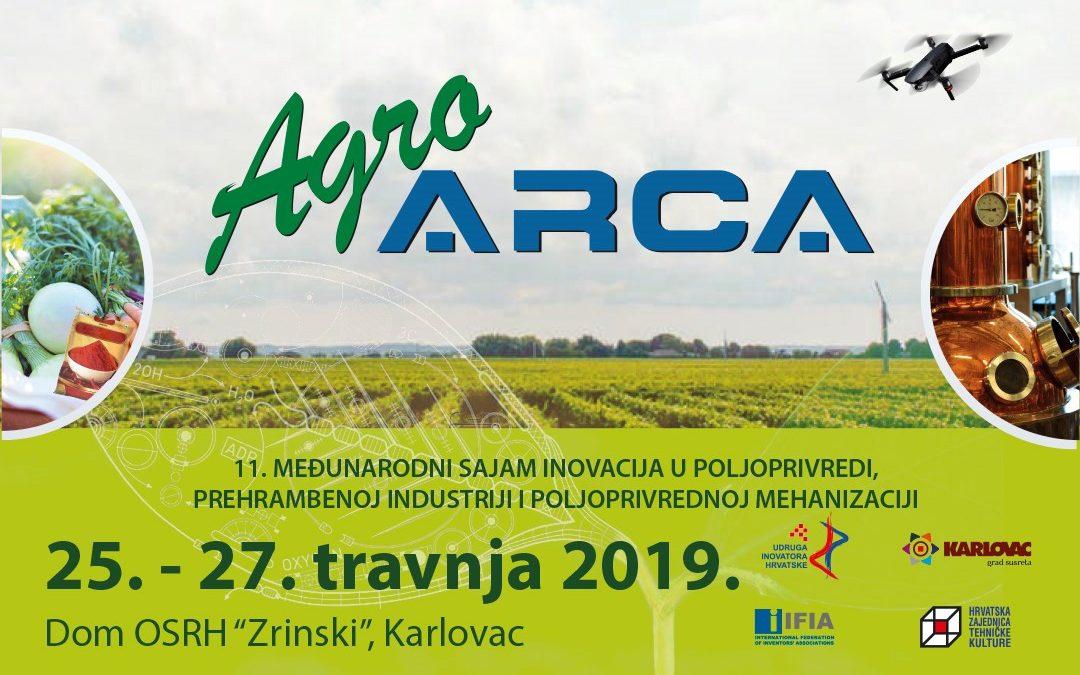 Agro Arca, od 25. do 27. travnja