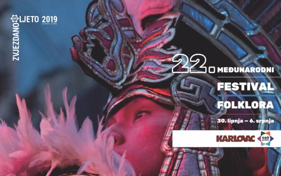 Međunarodni festival folklora 30.6. do 6.7.2019.