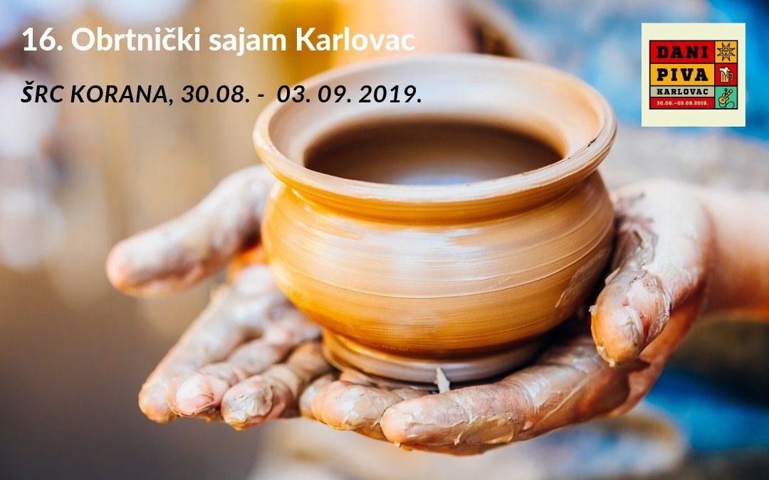 16. Obrtnički sajam Karlovac