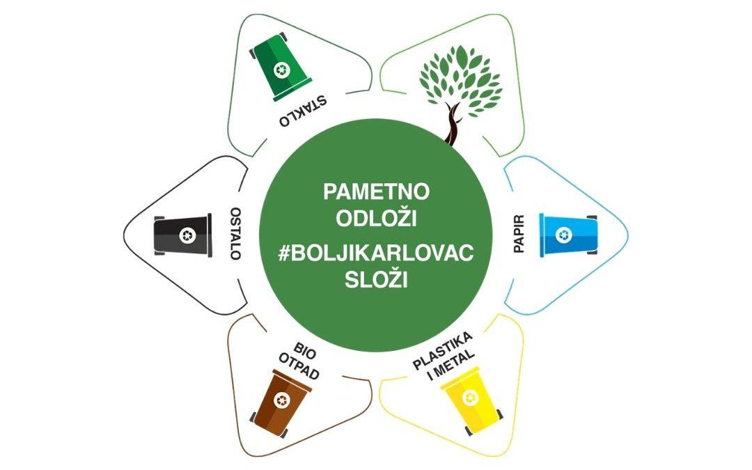 Pametno odloži #BoljiKarlovac složi