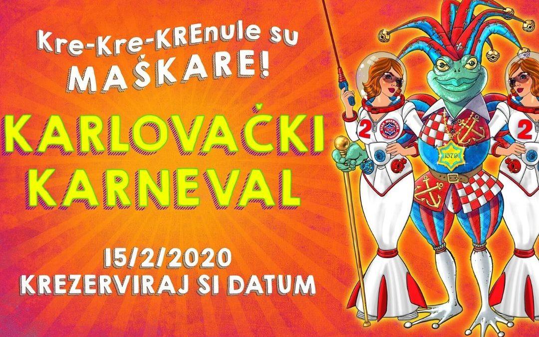 Karlovački karneval – program