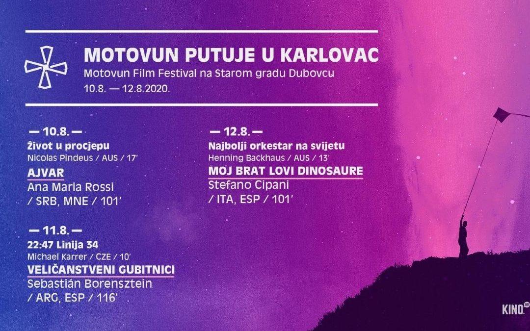 FILM ZA VAN: Motovun putuje u Karlovac, 10. do 13. kolovoza