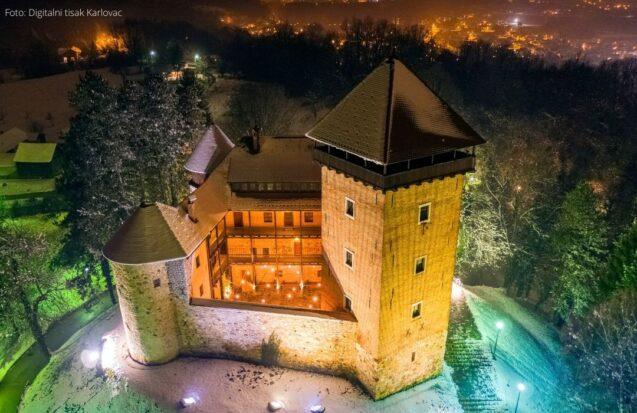 Stari grad Dubovac-zima